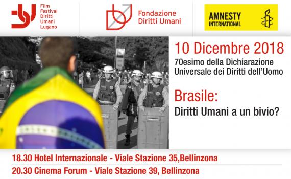 10.12.2018 - Brasile: Diritti Umani a un bivio?