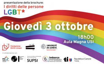 03.10.2019 - presentazione della brochure: I diritti delle persone LGBT* 2