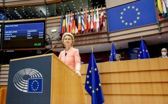 La presidente della Commissione lancia una sfida all'Europa