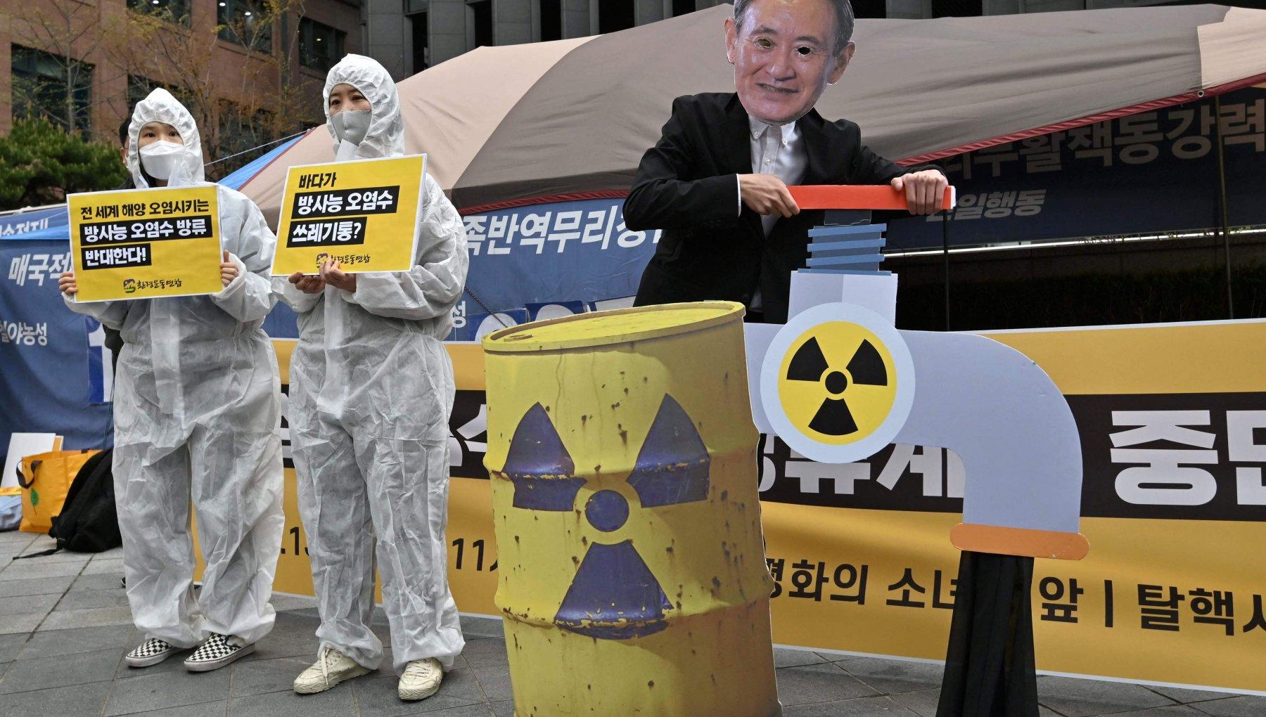 La decisione del governo giapponese di scaricare in mare l'acqua contaminata ignora i diritti umani e le leggi marittime internazionali